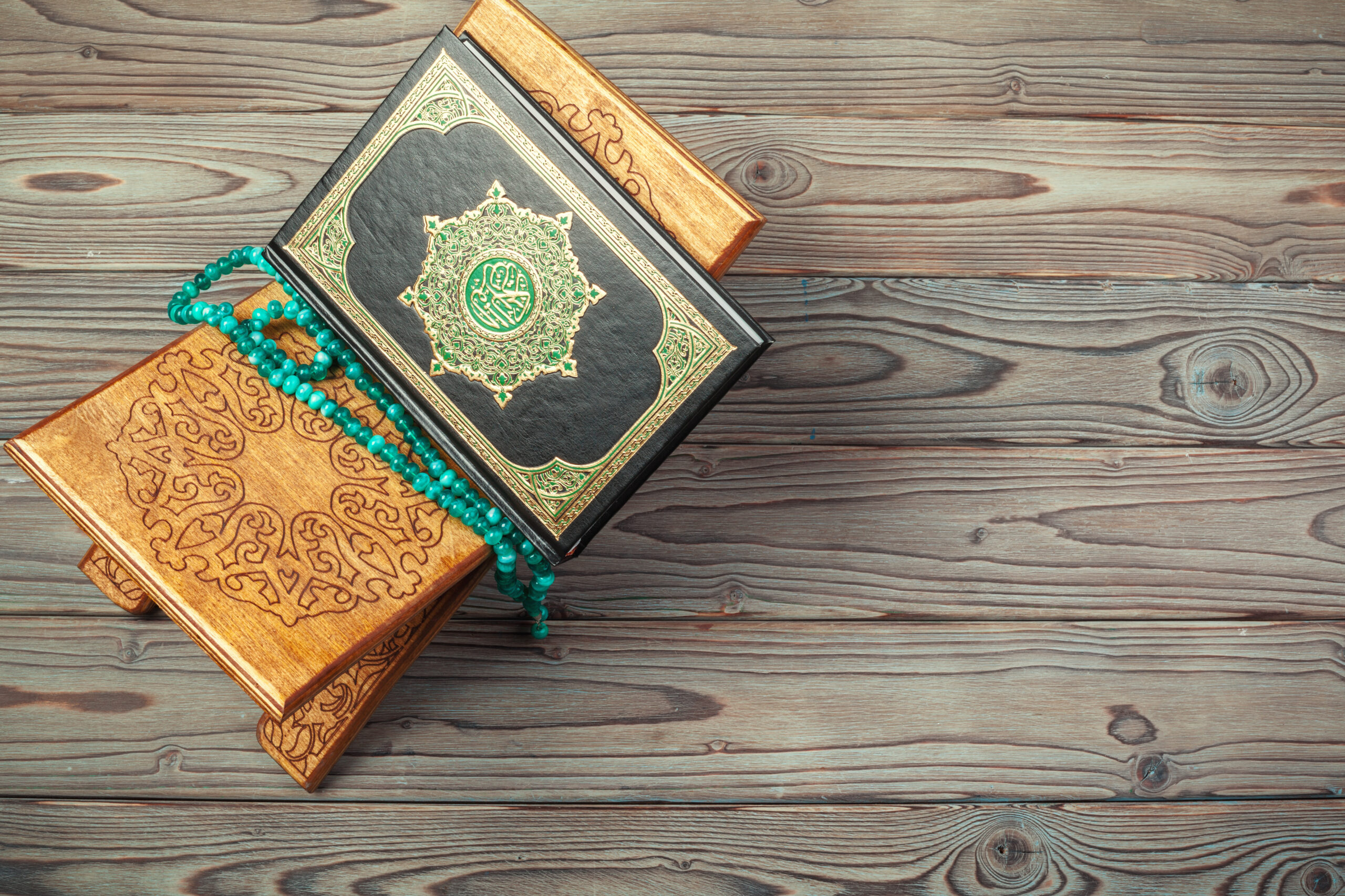 The holy book of the Quran